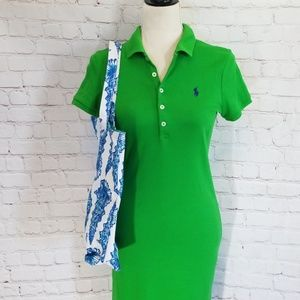 Ralph Lauren Green Polo Dress